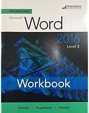 Benchmark Series: Microsoft (R) Word 2016 Level 3: Workbook