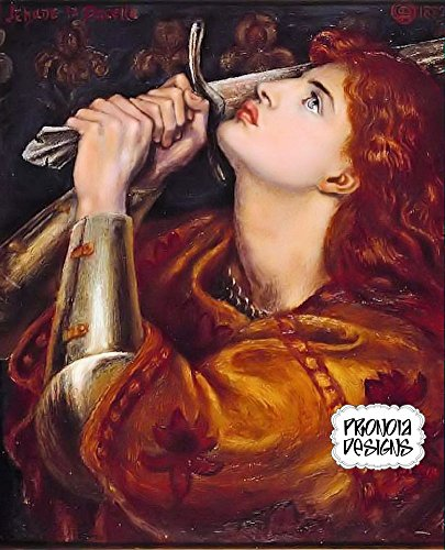Counted Cross Stitch Pattern: Pre-Raphaelite Artists,