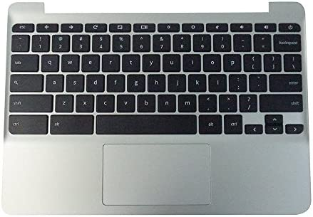 新しい純正PTK for HP chormebook 11g5Chromebook 11-vパームレストタッチパッドキーボード900818–001