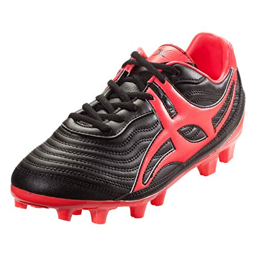 Gilbert Sidestep V1MSX FG Rugby Boots, US 9.5