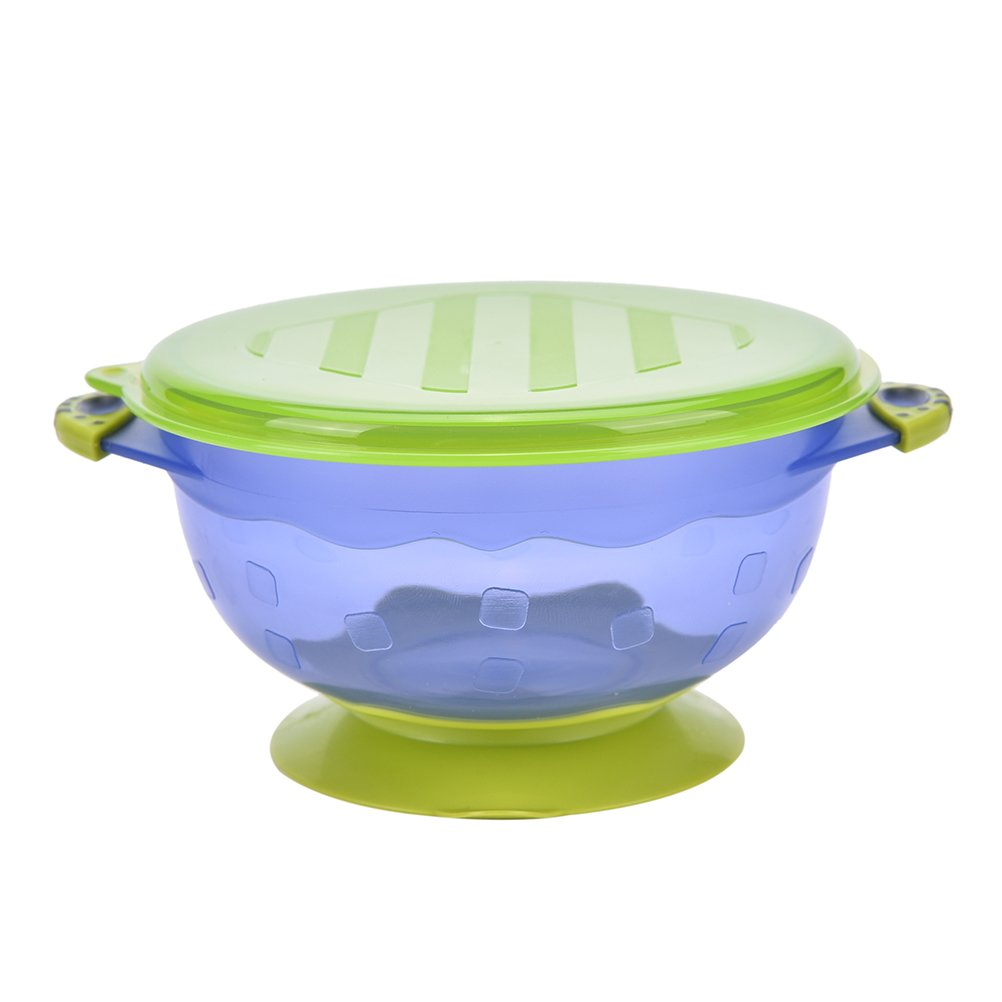 Supershopping Stay Put Suction Bowls with Seal-Easy