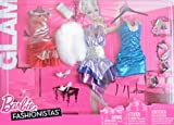 Barbie Fashionistas Glam SHIMMERY HOLIDAY FASHIONS w Faux FUR (2010)