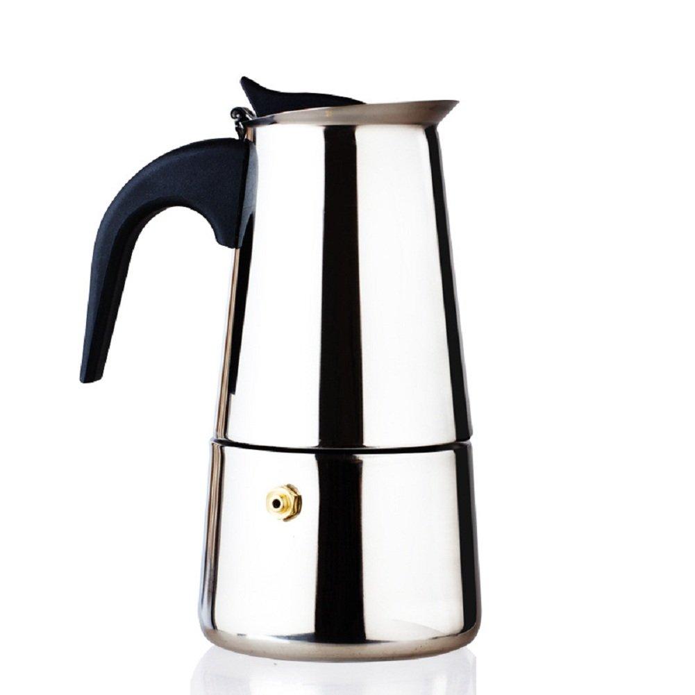 GMM Moka Express Cafetera expreso Tetera, 100 ml: Amazon.es: Hogar