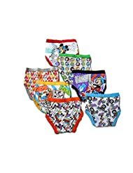 Handcraft Little Boys' Disne Seven Pack Mickey Mouse Briefs