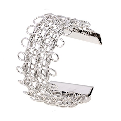 Superhai 8-Shaped Hollow Leg Twisted Fashion Alloy Bracelet Opening Wide Bracelets