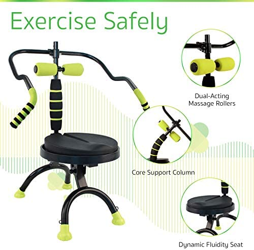 AB Doer 360 Kit, The Abs Workout Equipment for Total Core Exercise, Fat Burning, Toning and Fitness at Home 3