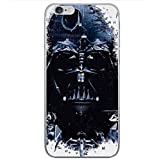 iPhone 5/5s Star Wars Silicone Phone Case / Gel Cover for Apple iPhone 5s 5 SE / Screen Protector & Cloth / iCHOOSE / Vader Fighters
