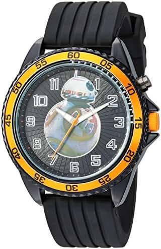 Star Wars Boy's Quartz Plastic Casual Watch, Color:Black (Model: SW7AQ047)