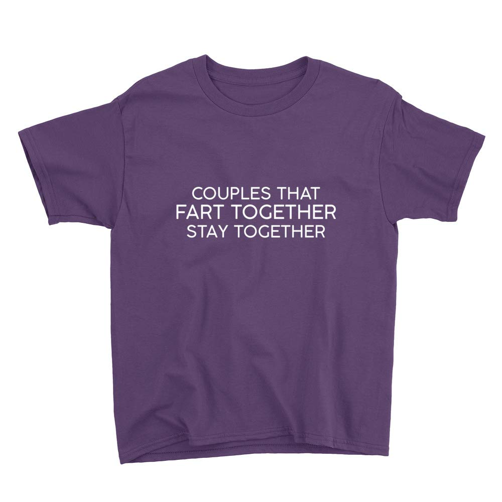 Subblime Couples That Fart Together Stay Together Youth T-Shirt