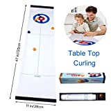 Best Gift for Kids,JRD&BS WINL Tabletop Curling Toys,Kids Game for Families, Adults vs Kids in This Fun Family Game.