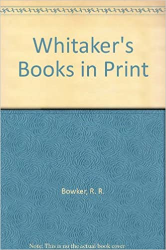 Whitaker's Books in Print 2003: Wy Gw T: GBP