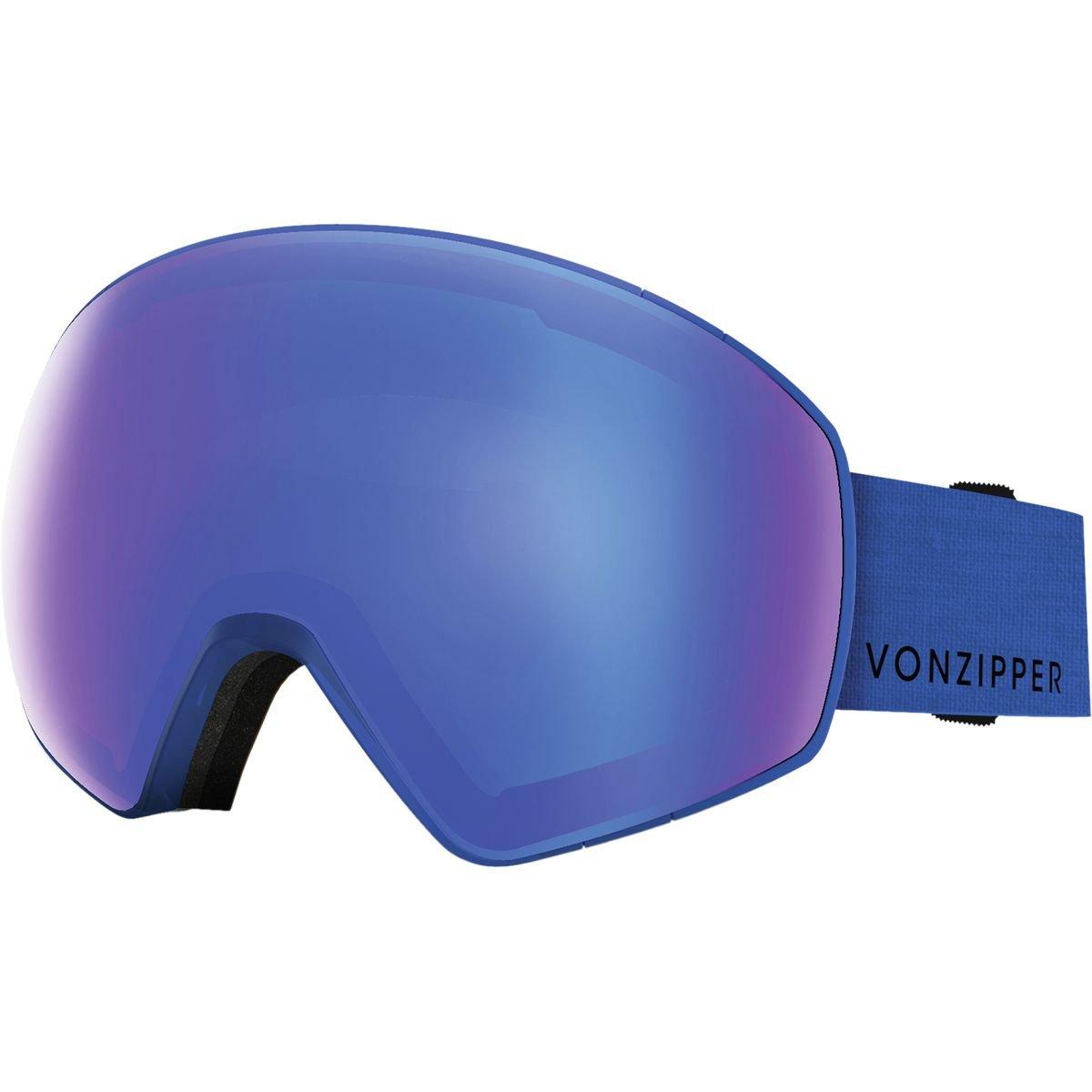 VonZipper Jetpack Goggles Mono Blue Satin One Size GMSNGJET-BLU
