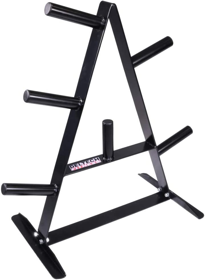 Deltech Fitness Olympic Weight Tree : Sports & Outdoors