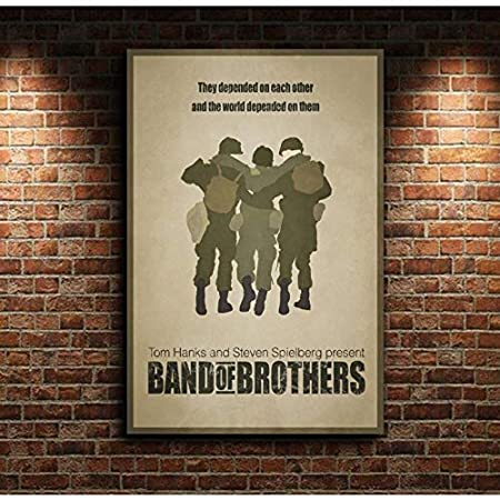taoyuemaoyi Band of Brothers TV Series Película Cartel De La ...