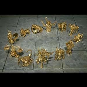 Saint Seiya Appendix Mini Gold Cloths Objects (12) [JAPAN] [Toy] (japan import)