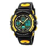 Boys Watches Dual Time Multifunction Digital Watches Alarm Sports Waterproof Kids Wrist Watch