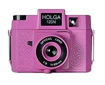 Holga Holgawood Collection Plastic Camera (Pink)