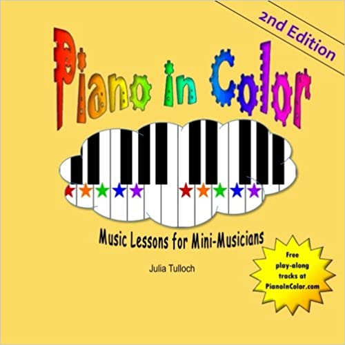 Book Piano In Color: Music Lessons for Mini-Musicians