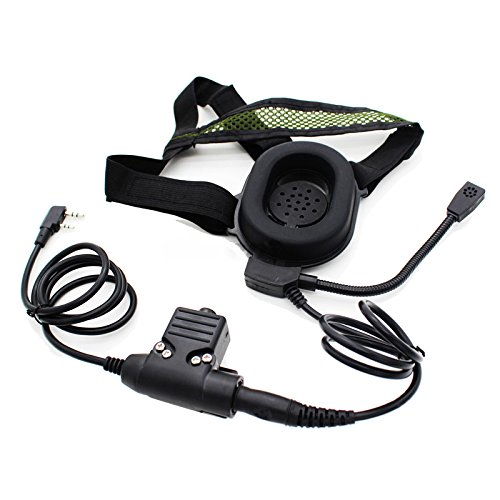 Retevis H777 Radio RT-5R SNOWINSPRING HD01 Headphone with U94 PTT for Baofeng UV-5R GT-UV-BF-F8