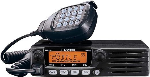 Kenwood TM 281/E VHF Mono Bande FM Portable /émetteur-r/écepteur