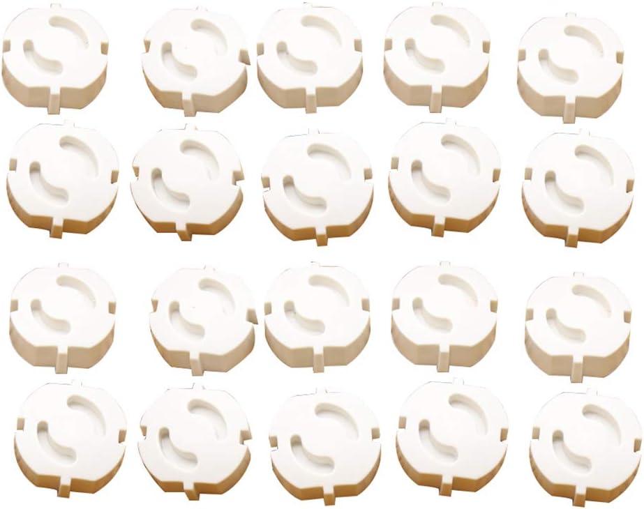 Booding Bebe Cubierta De Protecci/ón De Z/ócalo Prevenir Ni/ño Choque Electrico Cubierta Protectora Tapa De Enchufe 20//30 Y 50 por Set 5#Aset2