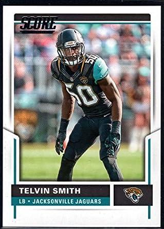 Amazon.com  Football NFL 2017 Score  107 Telvin Smith Jaguars ... c6f6283c2