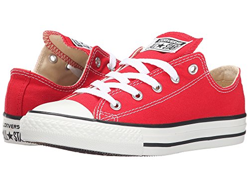 Converse unisex-child Chuck Taylor All Star  Low Top Sneaker, red, 11.5 M US Little Kid