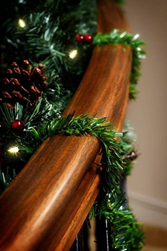 GarlandTies - 20 pack 14in Noble Fir Garland Christmas Decoration (Large Image)