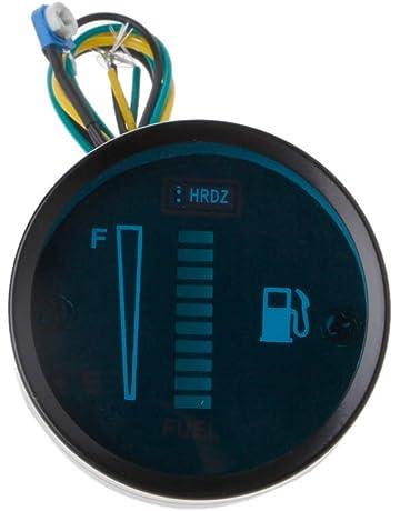Werst Medidor de Nivel de Combustible Universal para Coche, Motocicleta, 2 Pulgadas, 8