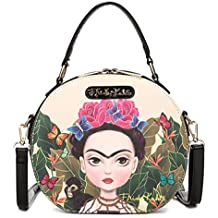 Frida Kahlo Cartoon Collection Small Handbag Cross Body Bag