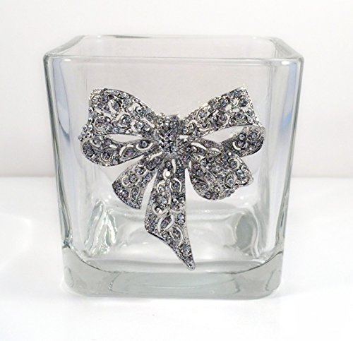 Glass Jar made with a Costume Bow Pin.]()
