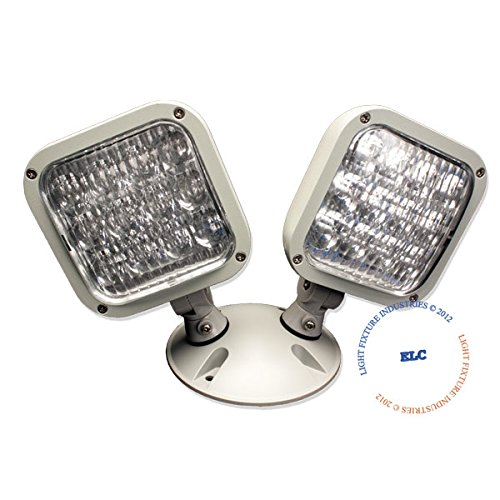 LFI Lights - 3.6V Double LED Remote Head Emergency Light - Wet Location - RHBWPL2 (Emergency Lights Wet Location compare prices)