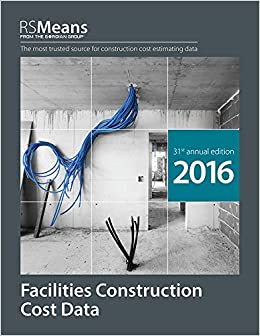Book RSMeans Facilities Construction Cost Data 2016