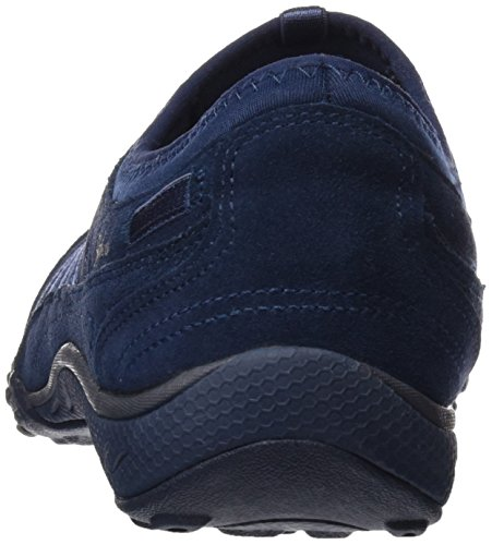 Easy Skechers para Azul Nvy Zapatillas Moneybags Breathe Mujer 1zxwr5zqA