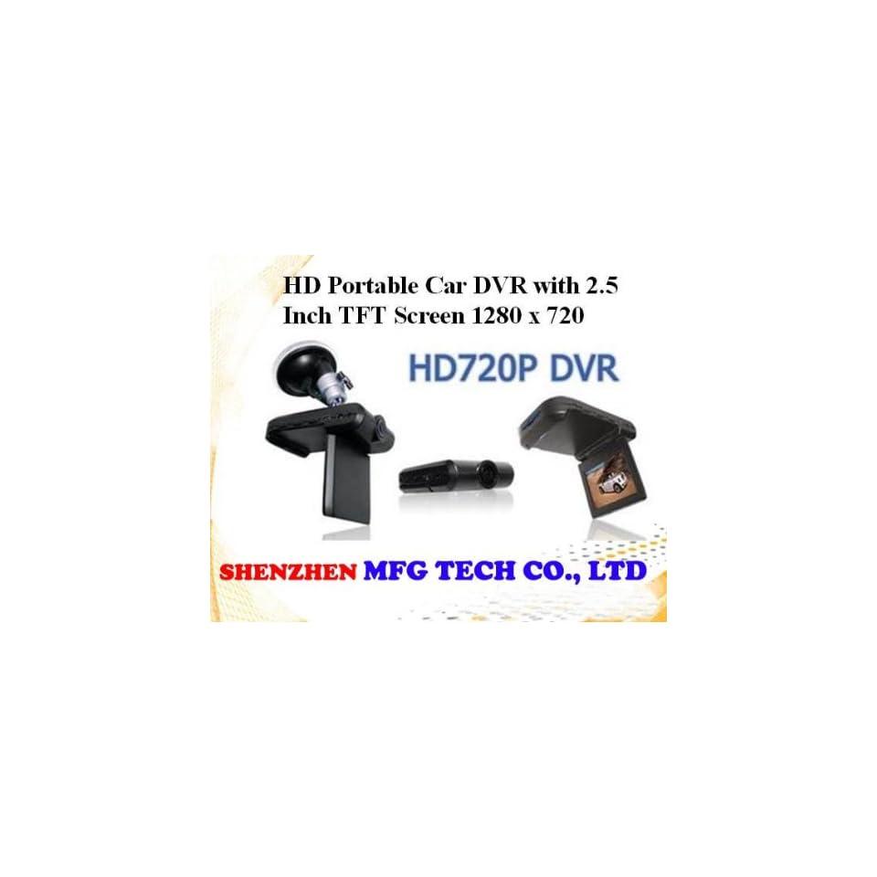 new 2.5 inch tft lcd screen hd720p vehicle camera car sport dvr sample 6pcs/lot