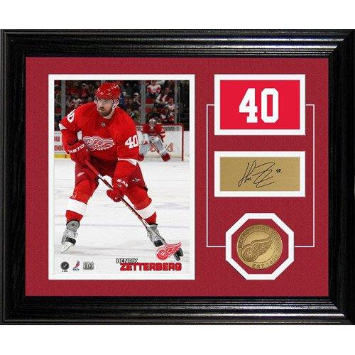 UPC 633204712952, Highland Mint Detroit Red Wings Henrik Zetterberg Framed Photomint