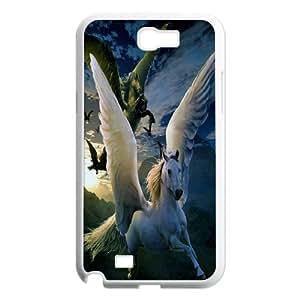 [Tony-Wilson Phone Case] For Samsung Galaxy Note 2 -IKAI0446864-Unicorn Pattern