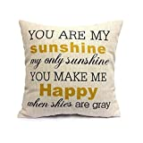Description:  -The Decorative Throw Pillow Covers /Pillow Shames are made by high quality cotton linen. -Beautify your living room or family room with new accent pillows. Home furnishings for indoor use -The throw pillow cover is perfect for ...