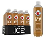 Sparkling Ice Crisp Apple Sparkling Water, with Antioxidants and Vitamins, Zero Sugar, 17  Fl. Oz Bottles (Pack of 12)