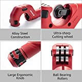 EZARC 2-Piece Tubing Cutter Set with 3/16 to 2-inch