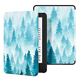 Ayotu Case for All-New Kindle(10th Gen, 2019 Release) - PU Leather Cover with Auto Wake/Sleep-Fits Amazon All-New Kindle 2019(Will not fit Kindle Paperwhite or Kindle Oasis),Forest