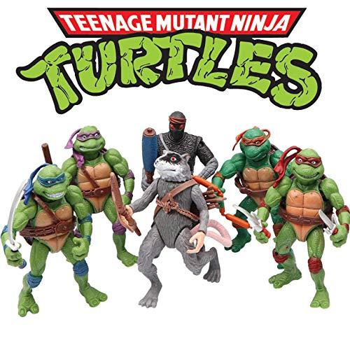 Ninja Turtles 6 PCS Set – Teenage Mutant Ninja Turtles Action Figure – TMNT Action Figures – Ninja Turtles Toy Set – Ninja Turtles Action Figures Mutant Teenage Set