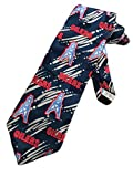 Team NFL Mens Houston Oilers Retro Football Necktie - Navy Blue - One Size Neck Tie