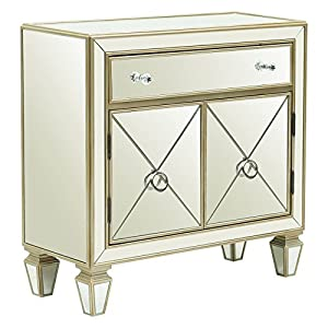 Right2Home Mirrored Accent Chest