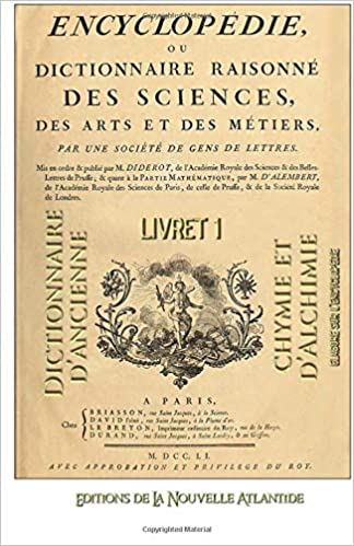 Encyclopédie Diderot Alchimie 1 (French Edition): Jacques Grimault: 9781536923742: Amazon.com: Books