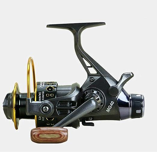 YAJAN-RotatingReel Carretes De Pesca 5.2: 1 10 + 1 BB Arrastre ...