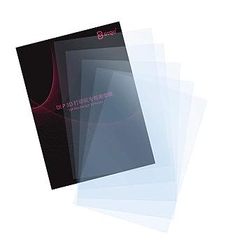 BIQUFEPフィルムLCDFEP膜光造形LCD透明リリースフィルムフォトン樹脂製DLP200mmx140mmx0.15mmSLA&DLP3Dプリンター用5枚入り