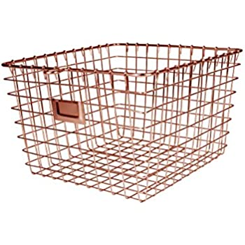 Nice Spectrum Diversified Wire Storage Basket, Medium, Copper