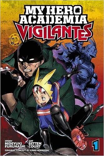 amazon com my hero academia vigilantes vol 1 9781974701599