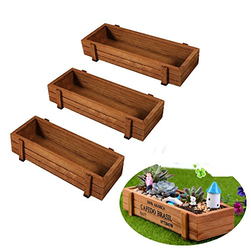 Wooden Outdoor Windowsill Kitchen Planter
